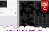 Mandala Sea Turtle SVG DXF Cut Files Bundle V3 example image 2