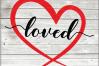 Valentine svg - Loved svg Hearts svg - Love heart -Valentine example image 1
