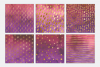 Princess Gold Watercolor Foil Textures | 6 Pack example image 2