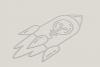 Creative Idea With Rocket Logo example image 3