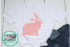 Grunge bunny svg,bunny svgs,easter bunny svg,grunge easter example image 1