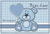 Bear Love_Appliquè example image 6