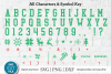 Ugly Christmas Sweater font, Tacky Christmas Jumper font OTF example image 5