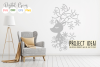 Christmas Reindeer paper cut SVG DXF EPS files example image 8