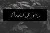 Mason - A Handwritten Signature Font example image 1