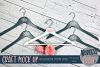 Pretty Bridal hangers Craft mock up |High Resolution JPEG example image 1