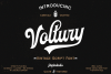 Voltury 4 fonts with extras example image 1