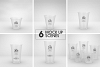 Clear Cold Drink Cups Packaging Mockup example image 2