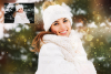 67 Christmas, overlays, photoshop PNG backdrop snow globe example image 7