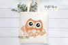 Owl SVG / EPS / DXF / PNG file example image 5