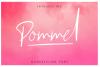 Pommel - Handstylish Font example image 1