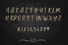 Gold alphabet clipart, Mettalic letters, Wedding fonts example image 5