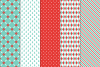 27 Christmas Seamless Patterns example image 4
