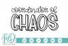 Teacher - Mom - Coordinator of Chaos SVG example image 1