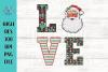 Santa LOVE PNG file example image 1