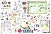 Watercolor Clip Art - Back to School example image 2