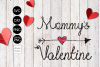 Mommys Valentine SVG File example image 2