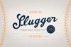 Slugger - Vintage Family Font example image 1