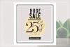 GRUNGE Social media sale banner pack example image 7