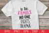 SALE! In this family no one fights alone svg, breast cancer example image 1