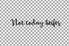 Not today Heifer printable shirt, mug, card floral cow png example image 16