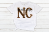 North Carolina NC State Leopard Bundle example image 2