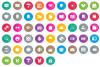 iOS & Web User Interface Multi Circle Flat example image 1