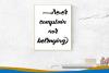 Kalgellise Handwritten Brush Font example image 3