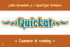 Quickat Font example image 2