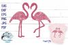 Double Floral Flamingo Mandala SVG Cut File   Summer SVG example image 1