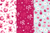 12 Valentine Seamless Patterns example image 5
