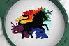 9 Unicorn Machine Embroidery Designs example image 8