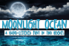 Moonlight Ocean - A Hand-Written Font In Two Heights example image 1