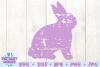 Grunge Bunny SVG example image 2