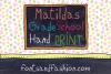 Matildas Grade School Hand_Print example image 4