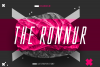 The Ronnur Font Family example image 1