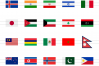 60 Flags Flat Multicolor Icons example image 2