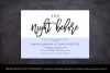 The Night Before Rehearsal Dinner Invitation Template Modern example image 4