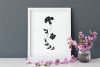 Floral Silhouettes SVG Cut Files Pack with 35 Items example image 7