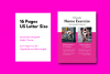 Fitness eBook Template - PowerPoint Template example image 4