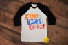 KIND VIBES ONLY | KINDNESS | ANTI-BULLYING | SVG DXF PNG example image 2
