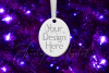 Oval Christmas Ornament Mockup, Sublimation Mock-Up, PSD example image 10