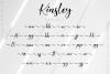 Kinsley Script example image 12