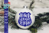 Police Officer Ornament SVG example image 1