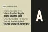 Finland Rounded - Font Family example image 6