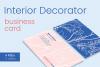 Interior Decorator Business Card example image 1