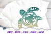 Mandala Sea Turtle SVG DXF Cut Files Crafters Bundle example image 5