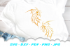 Tribal Goldfish Fish SVG DXF Cut Files example image 1