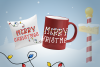 Bright Lights // A Merry Christmas Font example image 5