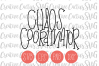 Chaos Coordinator SVG example image 1